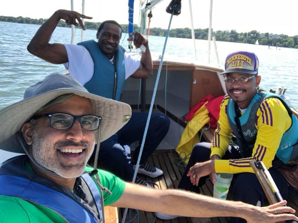 Sailing with George Floyd